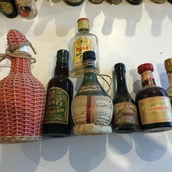 My Grandfather's sealed liquor bottles continued - Bottles