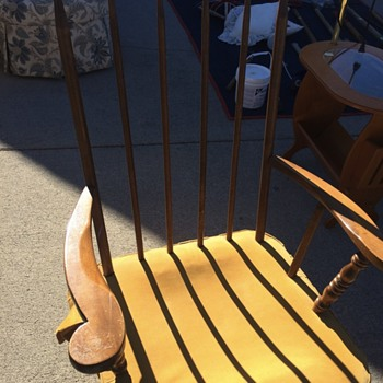 Vintage Rocker by The Standard Chair Co. of Gardner