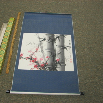 Japanese scroll - Asian