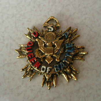 WW2 Sweetheart Necklace Army, Navy, Marine Corps