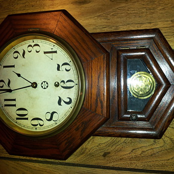 curious what year my New Haven clock might have been made... - Clocks