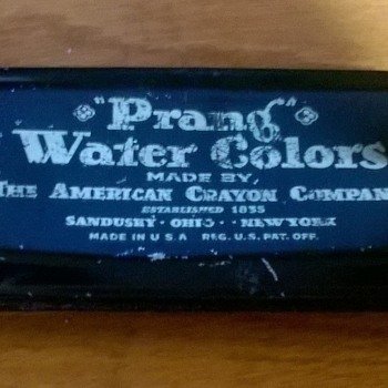 American Crayon Co: Prang Water Colors and Hygieia Chalk