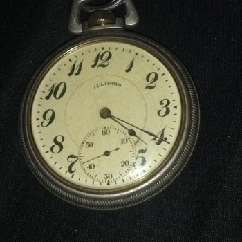 can someone please tell me something about my grandfathers watch? - Pocket Watches
