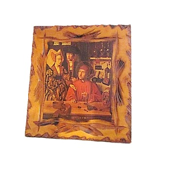 Petrus Christus, A Goldsmith in his Shop - Visual Art