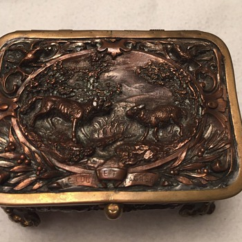 French jewelry casket