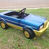 Mercedes SEL 500 plastic body pedal car