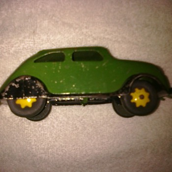 Old Chrysler Airflow Wyandotte car original condition...30's