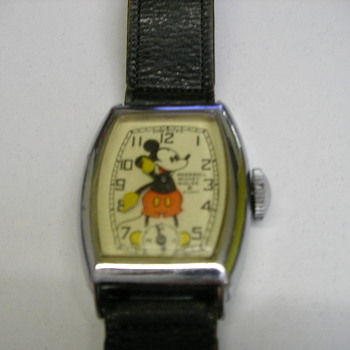 Case Back Cover For 1942 Mickey Mouse Watch - Wristwatches