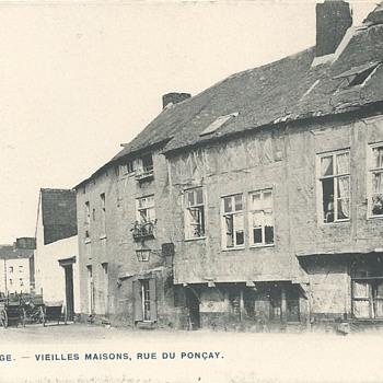 LIÈGE - VIEILLES MAISONS, RUE DU PONÇAY. - Postcards