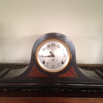 No 2 Cymbol Seth Thomas Mantle Clock - Clocks