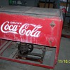 Early Coca Cola refrigerated drink box
