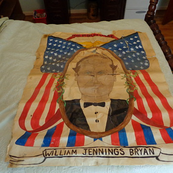 Period home made William Jennings Bryan political poster or not? - Posters and Prints