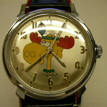 Bullwinkle Wrist Watch - Wristwatches