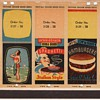Salesman Sample Cardstock Pages for Matchcovers circa 1940 (?) Collection Jim Linderman Dull Tool Dim Bulb