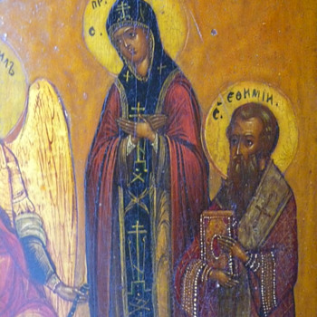 don't know anything about russian icons - Visual Art