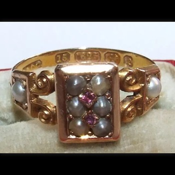 Victorian ring  - Fine Jewelry