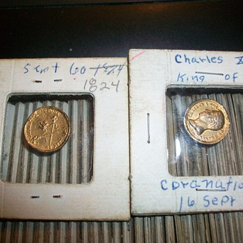 charles X french coins 1824 - World Coins