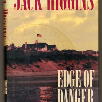 "2001 - ""Edge of Danger"" by Jack Higgins - Books"