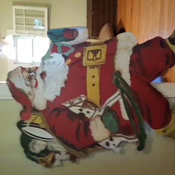 Santa clause display - Christmas