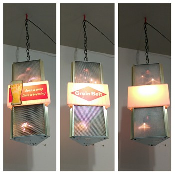 Grain Belt Hanging/Rotating Sign
