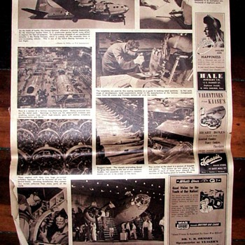 WWII newspapers