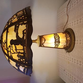My Slag lamp Tiffany style Japanese style