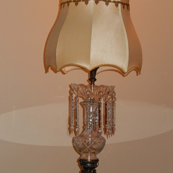 Vintage Crystal Table Lamps