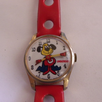 Speed of Lightning...Roar of Thunder... Underdog Wrist Watch - Wristwatches