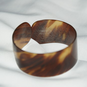 Vintage Bangle Made of Organic Material