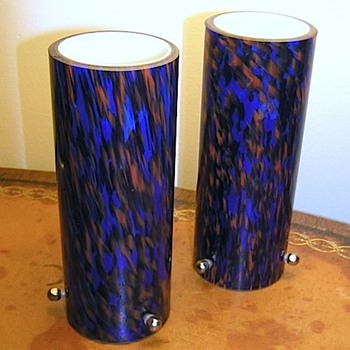 Glass whatsits? Candle Holders? Lamp Shades? - Art Glass