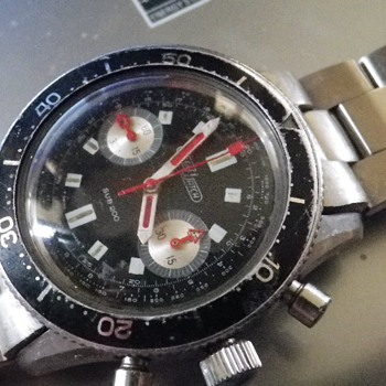 Nicolet Watch Sub 200 Divers Chronograph - Landeron 248 - Any Info? - Wristwatches