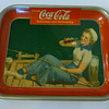 "1940 ""Sailor Girl"" Coca-Cola Tray"