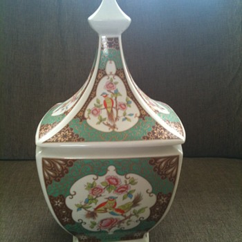 Asian Jar/vase?? with lid - Asian