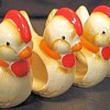 Little Yellow Chickie Napkin Holders