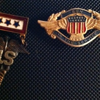 Son In The Service Pins