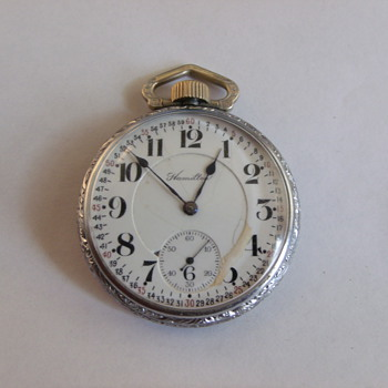 Hamilton 978 Pocket Watch
