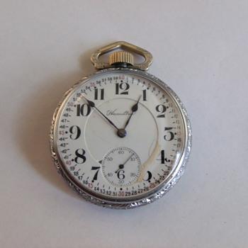 Hamilton 978 Pocket Watch - Pocket Watches