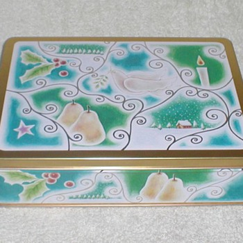 Christmas Cookie Tin - Scenes