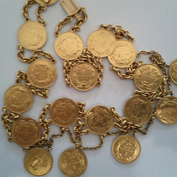 Gold Dollar Jewellery - US Coins
