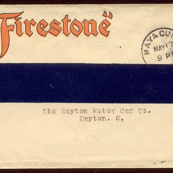 Firestone: from Mayaguez Puerto Rico to Dayton Ohio  May 17, 1915
