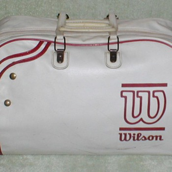 1980&#039;s Wilson Racquet Bag