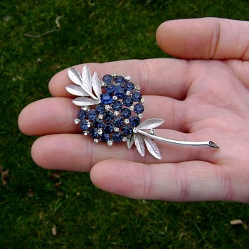 Crown Trifari Flower Fruit ? - Costume Jewelry