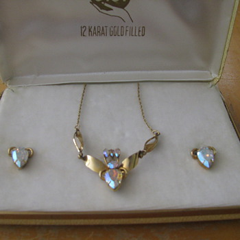 Costume Jewelry-Necklace and Earrings - Costume Jewelry