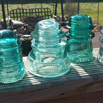 Glass Insulators - Tools and Hardware