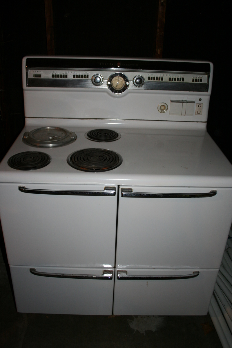 Antique General Electric Range Stoves ~ Electric stove vintage teenage lesbians