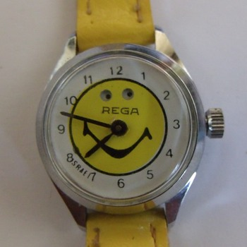 Rega Smiley Face Wristwatch