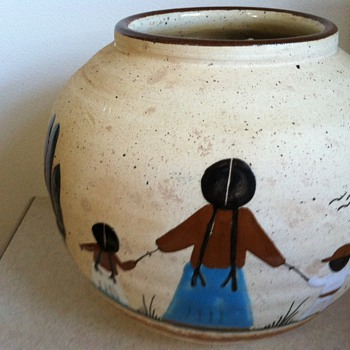 Pottery Bowl - Mexico - Art Pottery