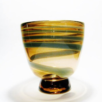 STEPHEN COX -USA 1985  - Art Glass