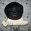 Vintage Leather Harley Davidson Cycles Beret Captains Hat