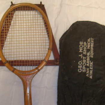 Tennis Racquet form Geo J Moe&#039;s Sport Shop